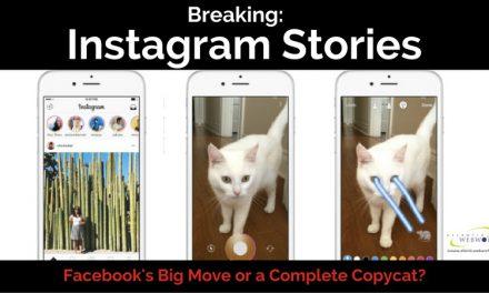 Instagram Launches Instagram Stories